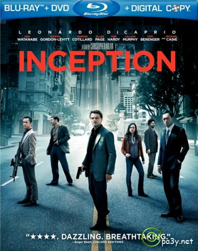 Начало / Inception (2010) Blu-ray | Лицензия