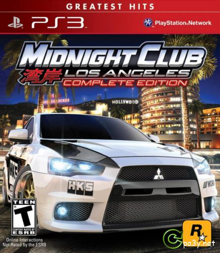 Midnight Club: Los Angeles (Complete Edition) [USA/ENG] PS3