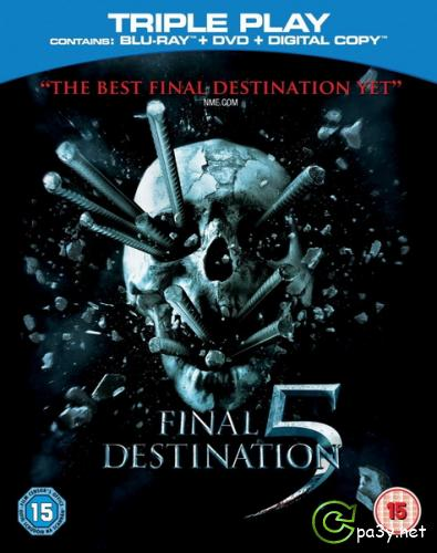 Пункт назначения 5 / Final Destination 5 (2011) HDRip | лицензия