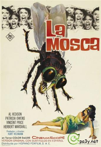 Муха / The Fly (1958) DVDRip