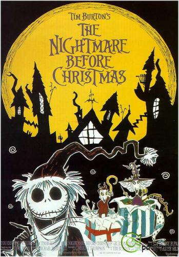 Кошмар перед Рождеством / The Nightmare Before Christmas (1993) DVD9