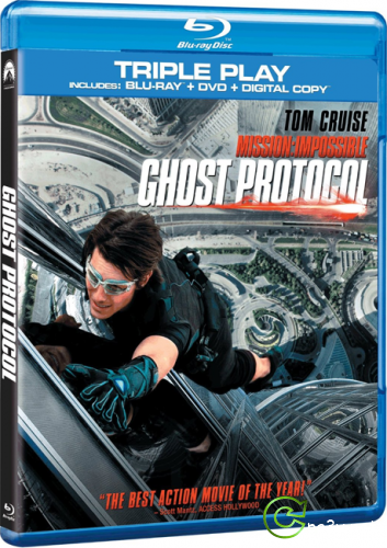 Миссия невыполнима: Протокол Фантом / Mission: Impossible - Ghost Protocol (2011) BDRip 720p