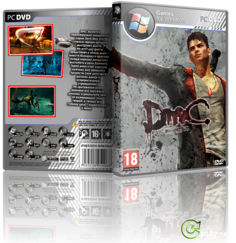 DmC: Devil May Cry (2013) PC | Repack от R.G. Механики