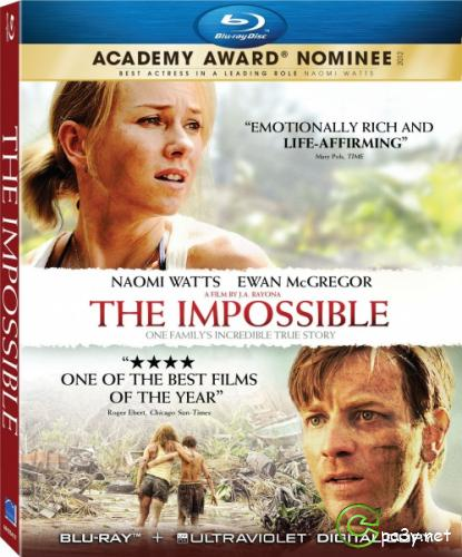 Невозможное / Lo imposible / The Impossible (2012) Blu-Ray 1080p
