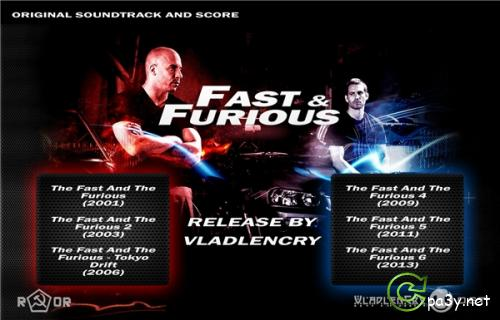 OST - Форсаж Гексалогия / The Fast and the Furious Hexalogy [Original Soundtrack and Score] [Various Artists, Brian Tyler] (2001-2013) MP3