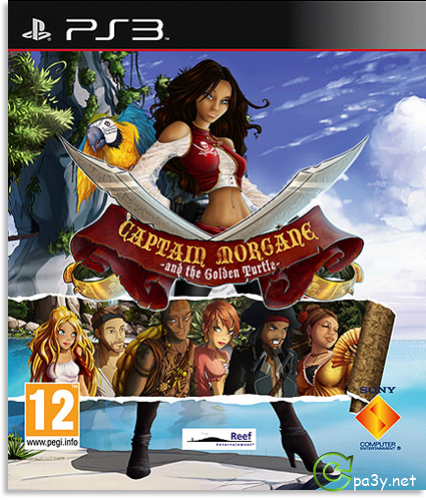 Captain Morgane And The Golden Turtle (2013) PS3 | RePack от R.G. Inferno