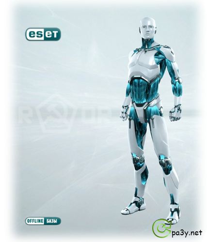 ESET NOD32 Offline Update 6.x/5.x/4.x/3.x v9147 (2013) PC