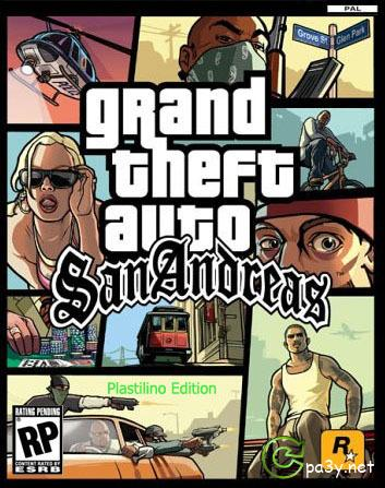 GTA / Grand Theft Auto: San Andreas - Plastilino RolePlay (2013) PC