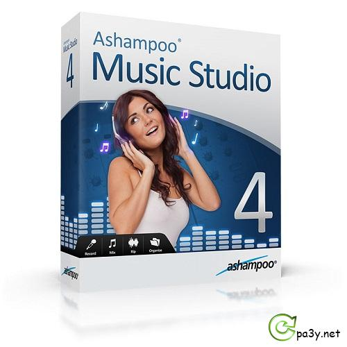 Ashampoo Music Studio 4.1.1.38 (2013) РС | RePack & portable by KpoJIuK