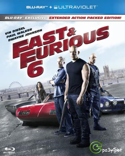 Форсаж 6 / Fast & Furious 6 (2013) BDRip 720p | Extended Cut | iTunes Russian