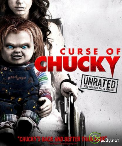 Проклятие Чаки / Curse of Chucky (2013) BDRip 1080p | UNRATED | Лицензия