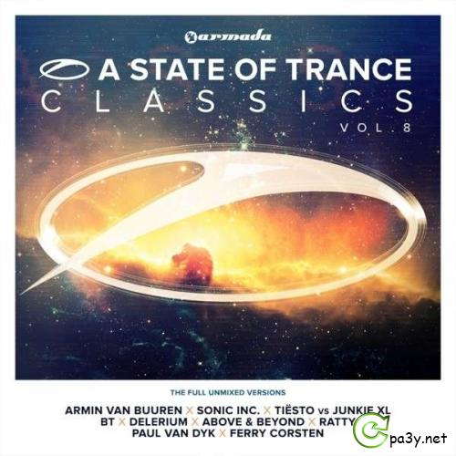 VA - A State Of Trance Classics Vol.8 [The Full Unmixed Versions] (2013) MP3