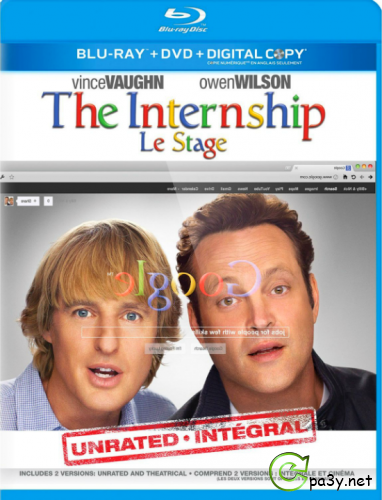 Кадры / The Internship (2013) BDRip 1080p от MULTIBITS | UNRATED | Лицензия