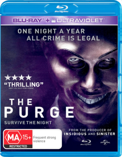 Судная ночь / The Purge (2013) BDRemux 1080p | D | Лицензия
