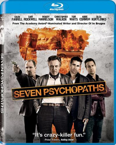 Семь психопатов / Seven Psychopaths (2012) BDRip 720p | D, A | Лицензия