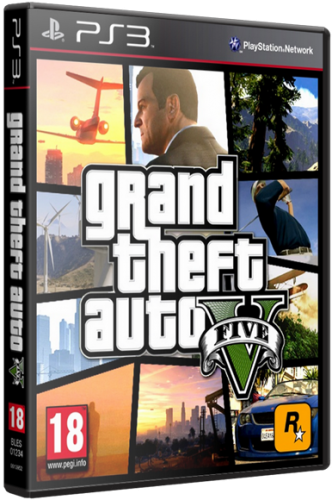 GTA 5 / Grand Theft Auto V (2013) PS3 | RePack от Afd