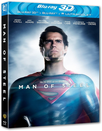 Человек из стали / Man of Steel (2013) BDRip 1080p | 3D-Video | halfOU