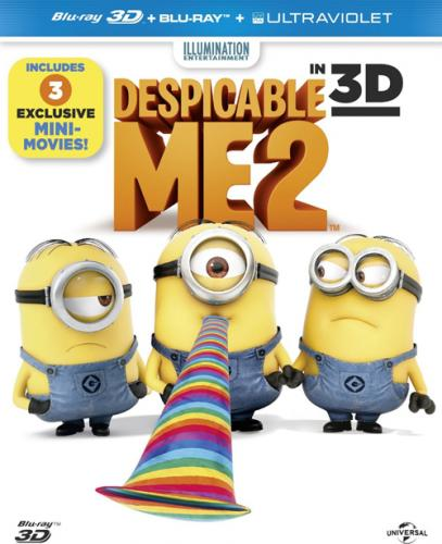 Гадкий я 2 / Despicable Me 2 (2013) BDRemux 1080p | Лицензия | 3D-Video
