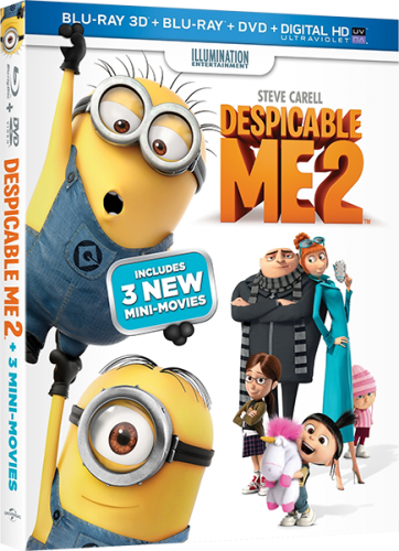 Гадкий я 2 / Despicable Me 2 (2013) BDRip 1080p | 3D-Video | halfOU