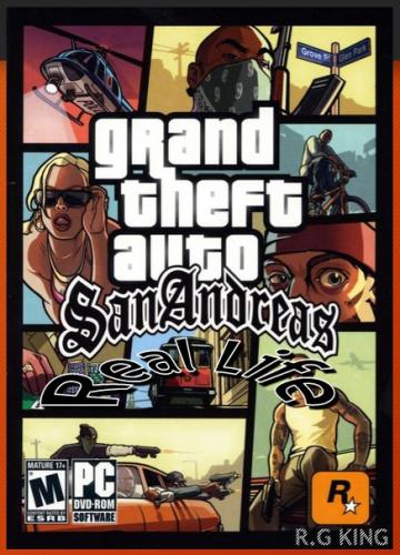 GTA / Grand Theft Auto - Real Life (2013) PC | RePack от R.G.KING