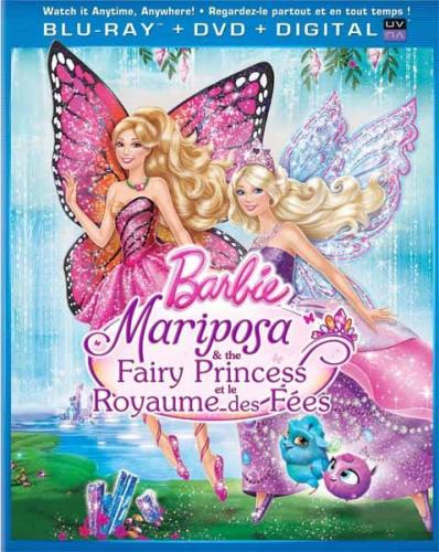 Barbie: Марипоса и Принцесса-фея / Barbie: Mariposa & The Fairy Princess (2013) HDRip | Лицензия