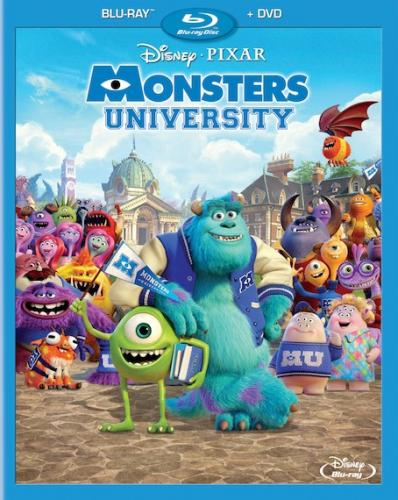 Университет монстров / Monsters University (2013) BDRip 720p | D | Лицензия