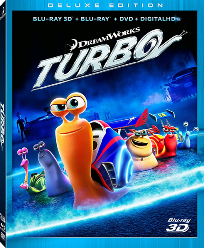 Турбо / Turbo (2013) BDRip 1080p | 3D-Video | halfOU