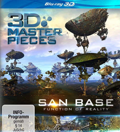 3Д Шедевры: San Base - Функция реальности / 3D Masterpieces: San Base – Function of Reality (2013) BDRip 1080p | 3D-Video | halfOU