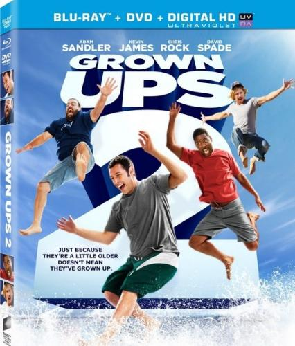 Одноклассники 2 / Grown Ups 2 (2013) HDRip | Лицензия