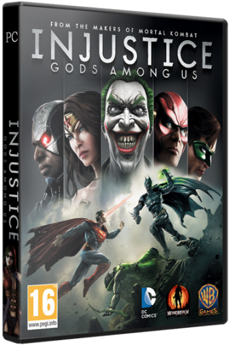 Injustice: Gods Among Us. Ultimate Edition (2013) PC | RePack от z10yded