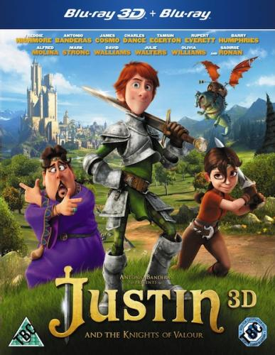 Джастин и рыцари доблести / Justin and the Knights of Valour (2013) BDRip-AVC от leonardo 59 & Scarabey | Лицензия