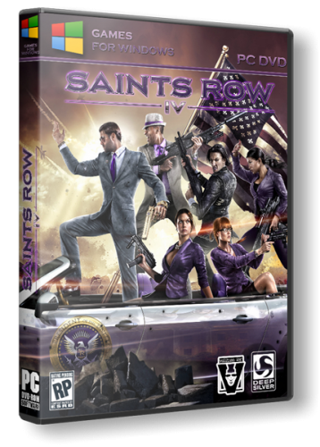 Saints Row 4: Commander-in-Chief Edition [v.1.0.6.1.Update 7+24 DLC] (2013) PC | Repack от xatab