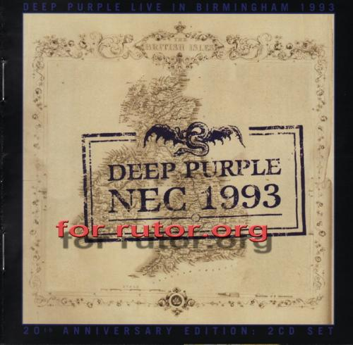 Deep Purple - Live in Birmingham NEC 1993 [2 CD] (2013) FLAC