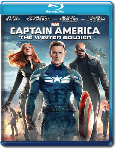 Первый мститель: Другая война / Captain America: The Winter Soldier (2014) Blu-ray EUR 1080p
